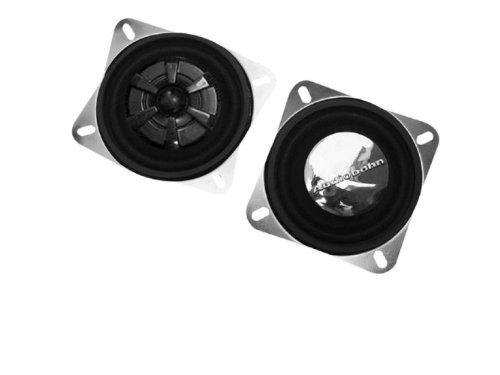 Audiobahn 3.5-Inch 2-Way As Series Full Range Convertible Component Car Speakers (As31J)