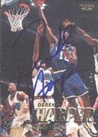 Derek Harper Dallas Mavericks 1997 Fleer Autographed Hand Signed Trading Card - Nice... by Hall+of+Fame+Memorabilia