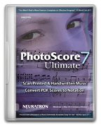 Photoscore Ultimate 7 - Software