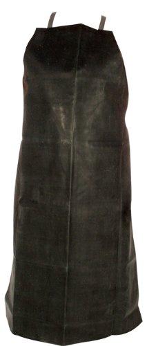N155A Natural Rubber/Cotton Apron - 55mm Black 36''x46''