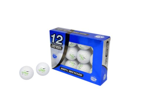 Second Chance Golfbälle 12 Nike Karma Lake A-Qualität, weiß, PRE-12-NIK-KAR