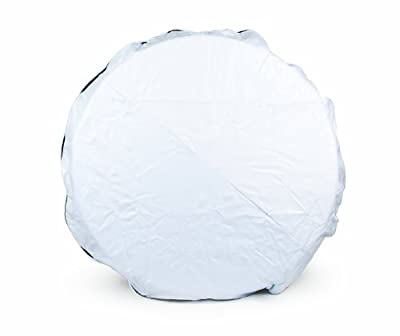 Camco RV Vinyl Spare Tire Cover (Arctic White)
