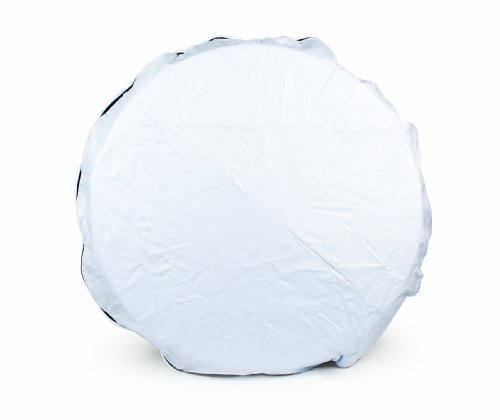Camco 45340 Vinyl Spare Tire Cover (34 inches  , White)
