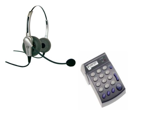 Binaural Headset With Dial Pad Pd100