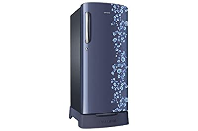 Samsung RR21J2835PX Direct-cool Single-door Refrigerator (212 Ltrs, 5 Star Rating, Orcherry Pebble Blue)