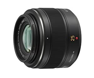 Panasonic マイクロフォーサーズ用ライカDGSUMMILUX25mmF1.4 単焦点 標準レンズ ASPH. H-X025