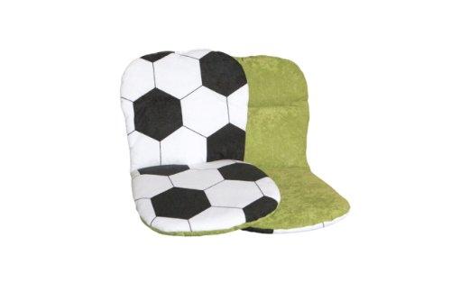 """"""" WM Fußball """" 4er Set Stuhlauflagen wendbar günstig kaufen"""