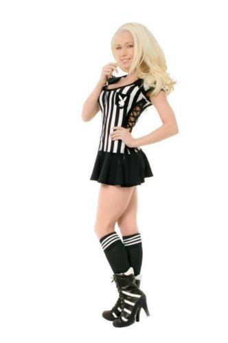 Adult Playboy Racy Referee Sm Adult Womens Costume