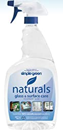 Simple Green 12302 32 oz. Naturals Glass Cleaner 6 Per Case
