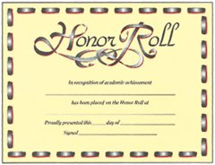 Buy AWARDS HONOR ROLL (LACING)
