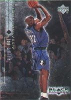 Joe Smith Minnesota Timberwolves 1999 Upper Deck Black Diamond Autographed Hand... by Hall of Fame Memorabilia