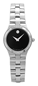Movado Women's 605032 Juro Diamond Accented Watch
