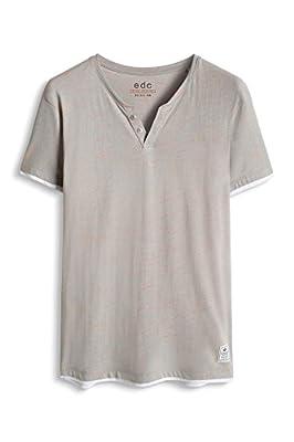 edc by Esprit Men's 056cc2k005-Neonstreifen T-Shirt