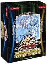 Yu-Gi-Oh Cards 5D's - Hidden Arsenal *Special Edition* (3 Booster Packs & Limited Edition holo) - 1