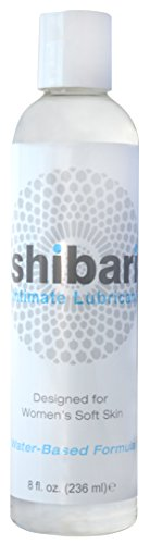 Shibari Premium Intimate Lubricant, Ultra-Smooth, Water Based, 8oz Bottle