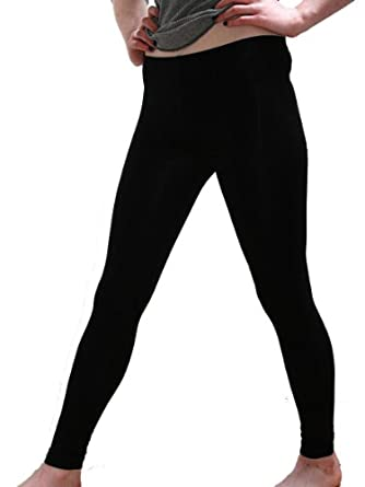 Cotton Spandex Jersey Legging 8328 (X-Small, Black)