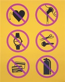 Amazon.com: MRI Safety Sign: Danger Magnetic Objects: Health