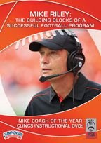 Mike Riley: The Building Blocks of a Successful Football Program (DVD) by Championship Productions