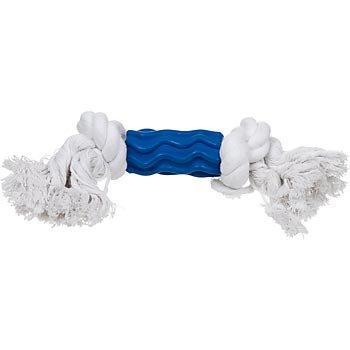 Booda Small Dogzilla with Rope Dog Toy