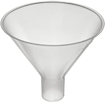 CapitolBrand Polypropylene Plastic Lab Powder and Filling Funnel