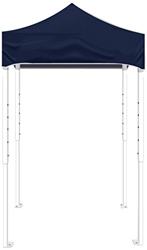 Kd Kanopy Ps25Nb Party Shade Steel Frame Indoor/Outdoor Portable Canopy, 5 By 5-Feet, Navy Blue