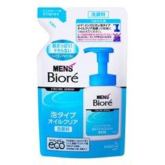 メンズビオレ 泡タイプオイルクリア洗顔つめかえ 130ml