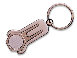 Stainless Steel Key Chain with Golf Divot Tool - Free Engraving