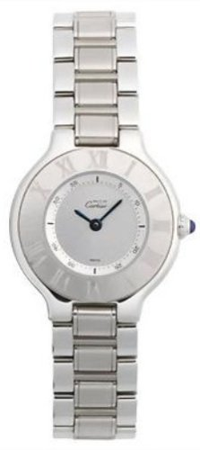 Cartier Women's W10109T2 Must 21 Stainless Steel Watch