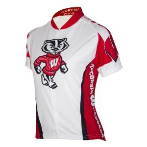 NCAA Women's Wisconsin Badgers Cycling Jersey, Large, Red (Wisconsin Cycling Jersey compare prices)