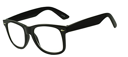 Wayfarer RX Strength Maginfication Reading Eye Glasses +1.00 +1.50 +2.00 +2.50 +3.50 Readers Eyewear (Black, 2.5 x) (Extra Wide Reading Glasses compare prices)