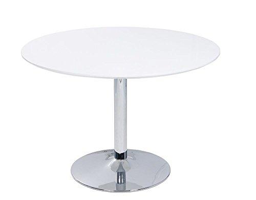 Esstisch-rund-in-Hochglanz-Wei-ae-Durchmesser-ca-110-cm-Hhe-ca-75-cm