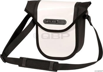 Ortlieb Ultimate5 Handlebar Bag: White/Black