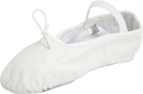 Bloch Women's Dansoft Ballet Slipper,White,6 B US