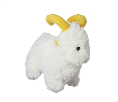 Multipet's Look Who's Talking Plush Sheep 6-Inch Dog Toy