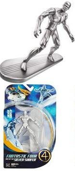 Picture of Hasbro Fantastic 4 Action Figure Silver Surfer (B000M6CWJ4) (Fantastic Four Action Figures)