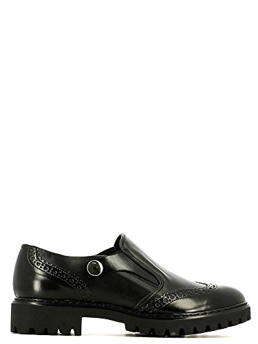 Grace shoes 6608 Francesina Donna Nero 36