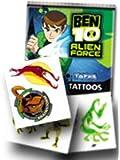 Ben 10 Alien Force Temporary Tattoos