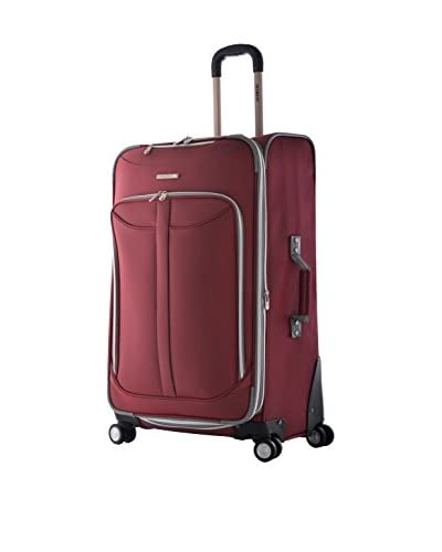 Olympia Luggage  Tuscany 30 Inch Expandable Vertical Rolling Luggage Case,Red