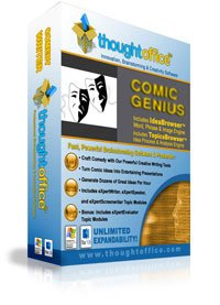 Comedy Writing - Thoughtoffice Comic Genius Comedy Writing Software Suite Mac Osx - Windows Xp-7