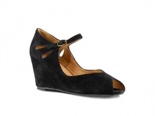 Cheap Jeffrey Campbell Regina Black (B007QW64KA)