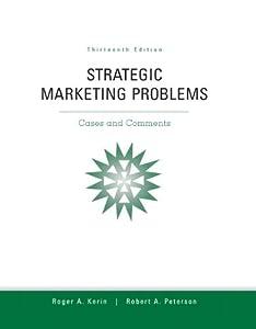 Strategic Marketing Problems (13th Edition) e-book downloads