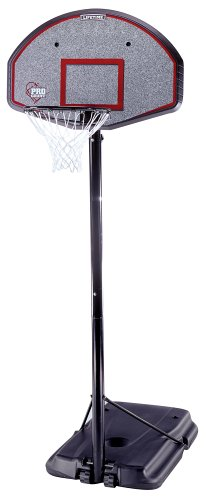 Lifetime 1225 Pro Court Height-Adjustable Portable Basketball System with 44-Inch Backboard