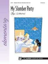 Alfred 00-22440 My Slumber Party - Music Book