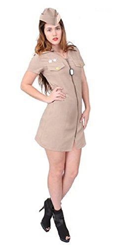 Rothco Women's Military Costume in Khaki