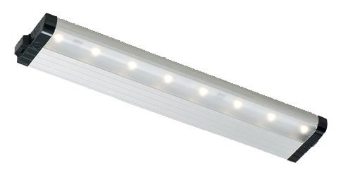 """Eco-Counter Under Cabinet Light Length: 16"""", Dimming: Yes, Finish: White"""