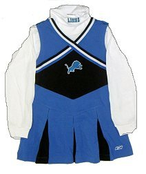 Detroit Lions Kids Cheerleader Outfit - Buy Detroit Lions Kids Cheerleader Outfit - Purchase Detroit Lions Kids Cheerleader Outfit (Reebok, Reebok Dresses, Reebok Girls Dresses, Apparel, Departments, Kids & Baby, Girls, Dresses, Girls Dresses, Jumpers, Girls Jumpers, Jumper Dresses, Girls Jumper Dresses)