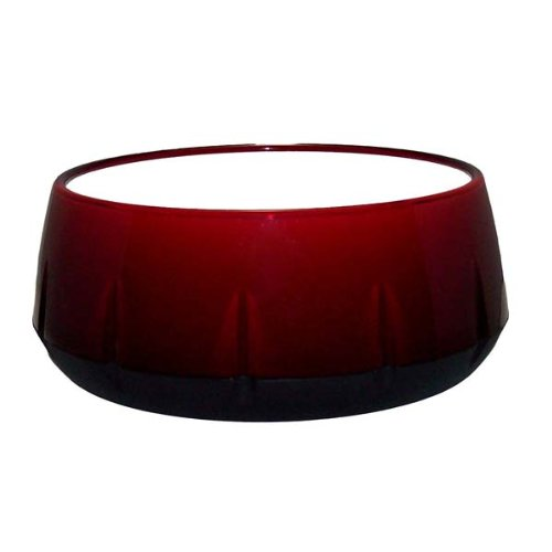 Red Cinnamutt Dog Bowl Color: Red Cinnamutt