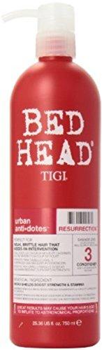 TIGI Bed Head Urban Anti+dotes Resurrection Conditioner 25.36 oz (Pack of 3) (Bed Head Conditioner 3 compare prices)