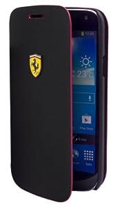 Housse mat Samsung Galaxy S4 Mini noire Ferrari Scuderia