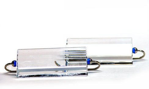 Swarovski Crystal Rainbow Knife Rests Set Of 2 Sapphire 276698